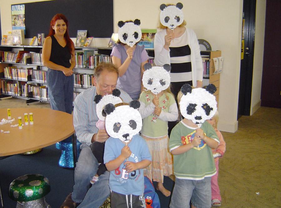 Displays and Children's Activities in Public Libraries, Zoo, Schools